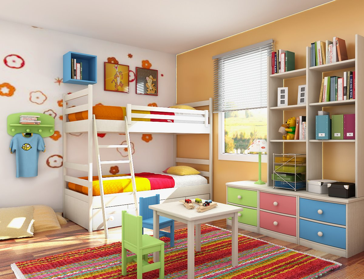 Kids room-a haven where your child can be comfortable
