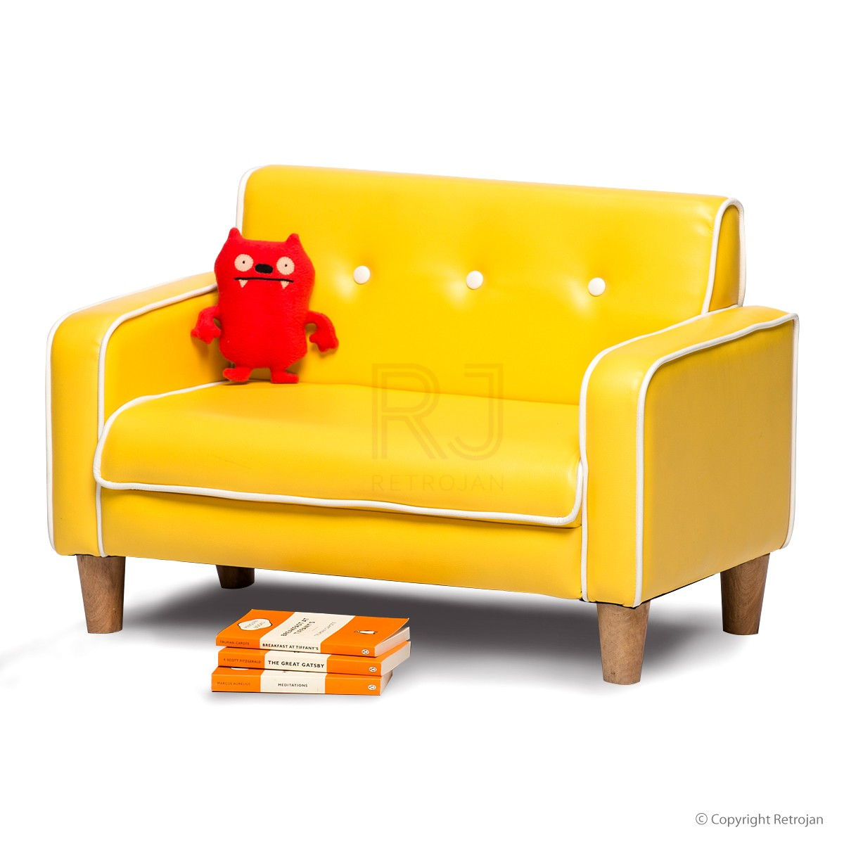 kids sofas buy el nino kids sofa (yellow) online | kids furniture - retrojan NWJNIBP