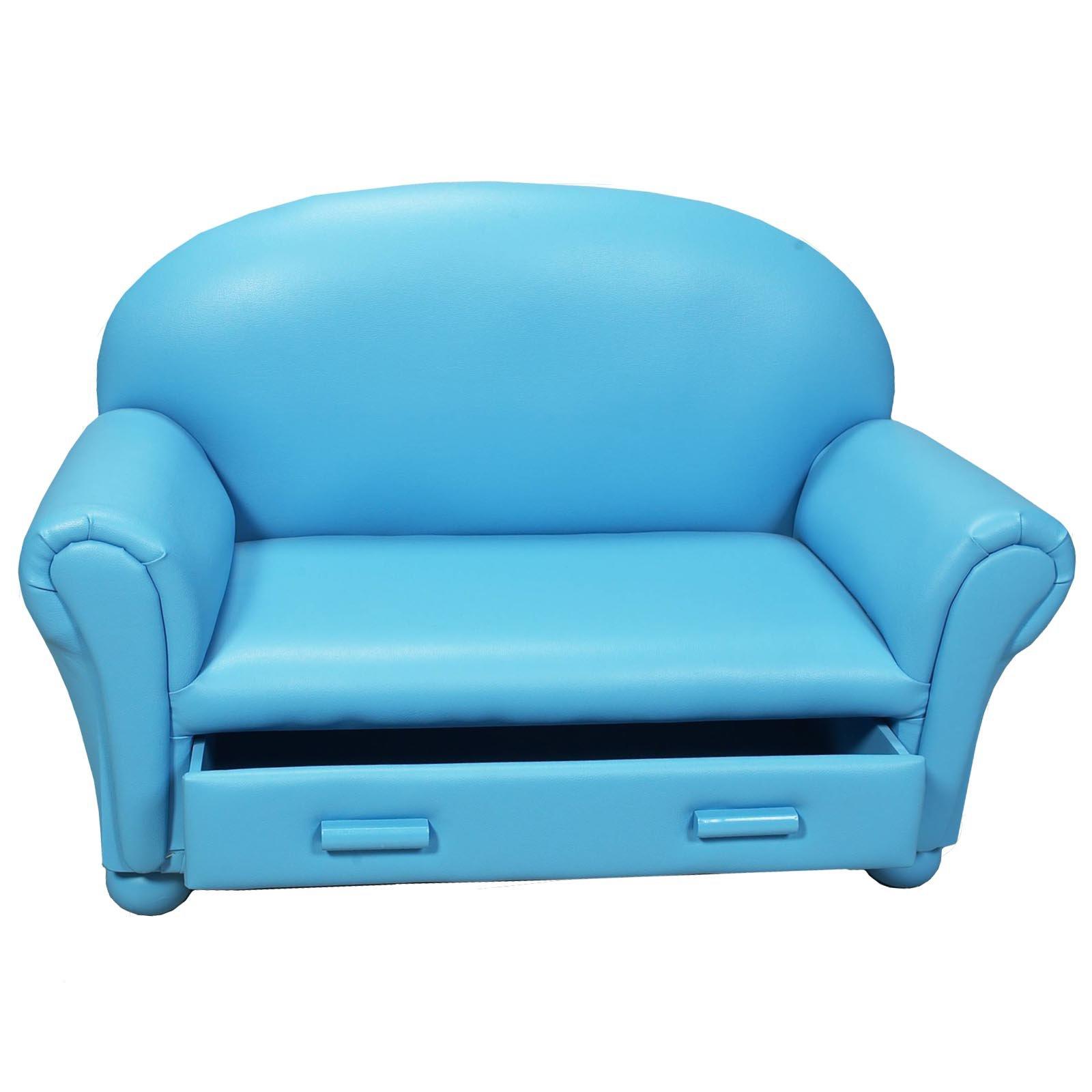 kids sofas childrens sofa with storage drawer - kids upholstered sofas at hayneedle NNIAUGK