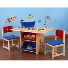 Kids table and chairs star kids 5 piece table and chair set IISNQPK