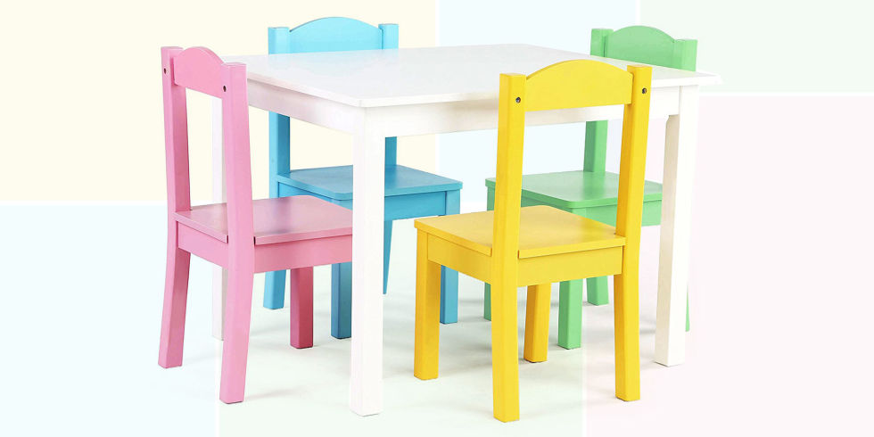 Kids table and chairs toddler table and chairs WQDTIEU