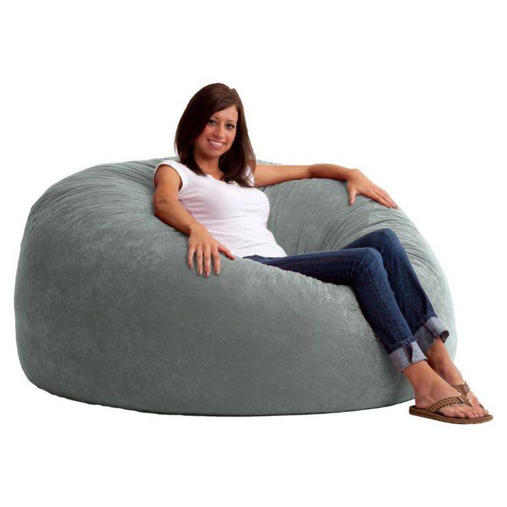 king comfort suede bean bag sofa - 0005176 WKPWPRI