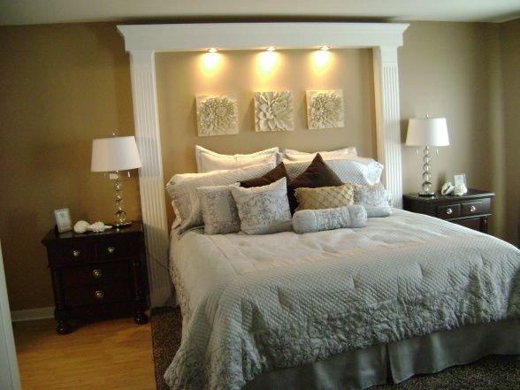king headboard customers room, bedroom that i redisigned from its original 90s decor w/ SNVRDJC