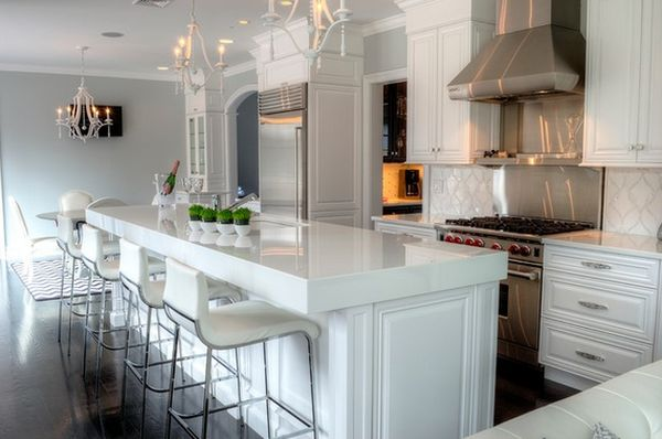 kitchen bar stools ... geometric décor view in gallery ... FBSKYUO