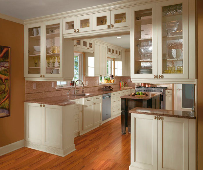 kitchen cabinets design ... off white cabinets in casual kitchen by kitchen craft cabinetry ... DATUACC