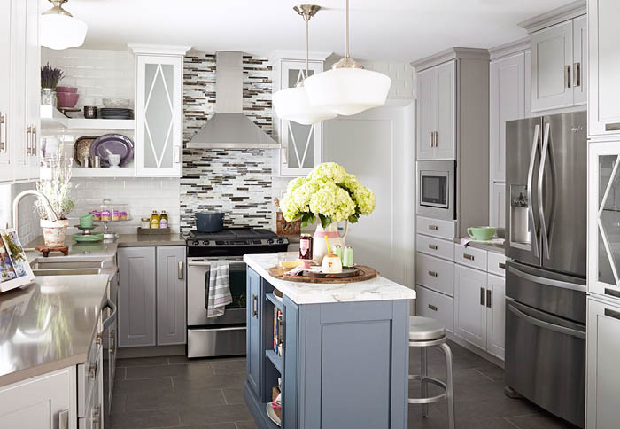kitchen color ideas polished neutrals XTMRHEM