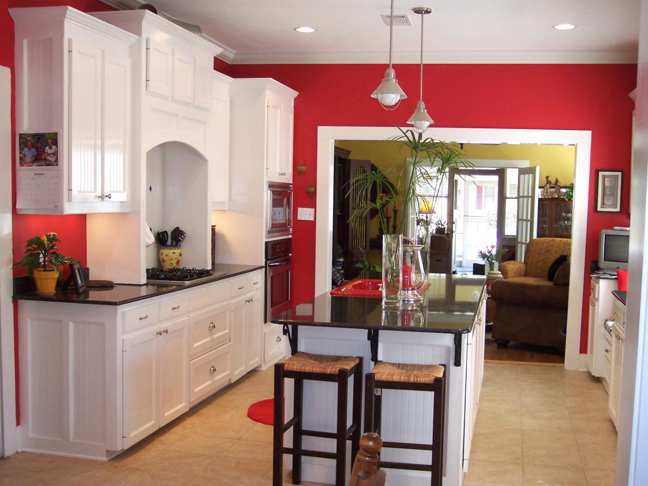 kitchen color ideas what colors to paint a kitchen RQYGGFO