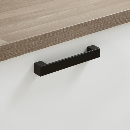 kitchen cupboard handles kitchen cupboard handle - black square bar handle WANYGCR