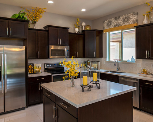 kitchen decor contemporary kitchen idea in phoenix with stainless steel appliances CHXPGZQ