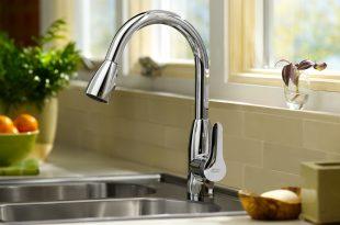 kitchen faucet h2option dual flush button ... JBEGJPE