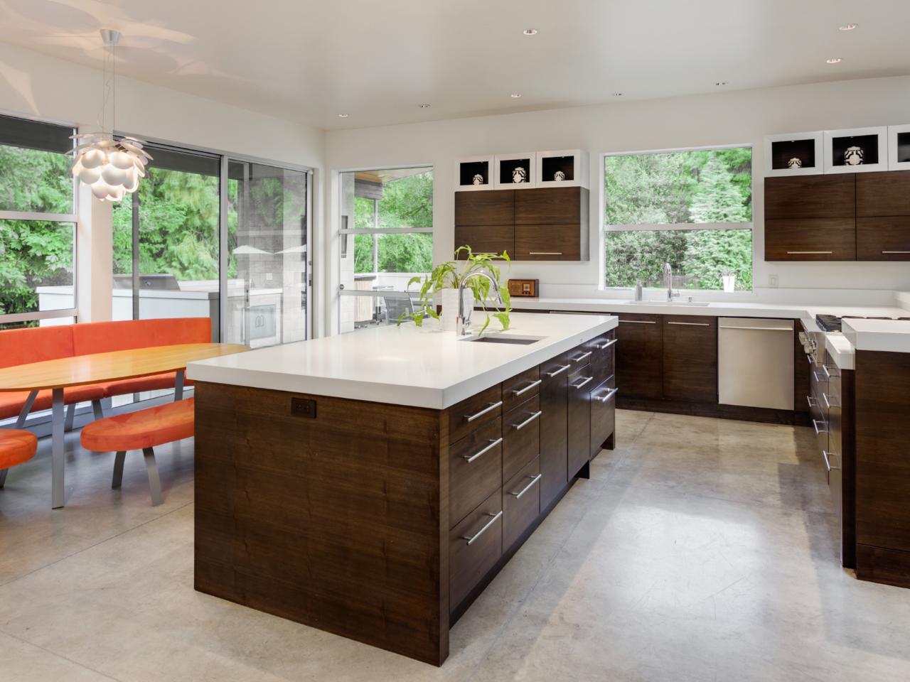 Different kitchen flooring options