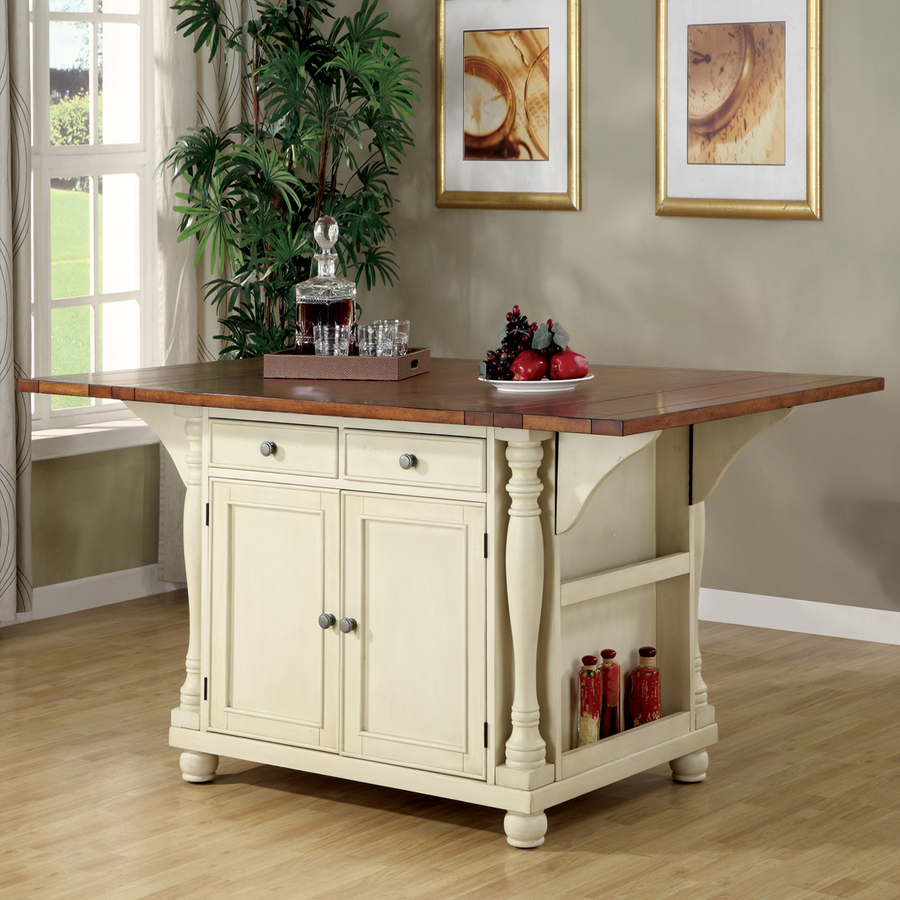 Using a kitchen island cart for good results