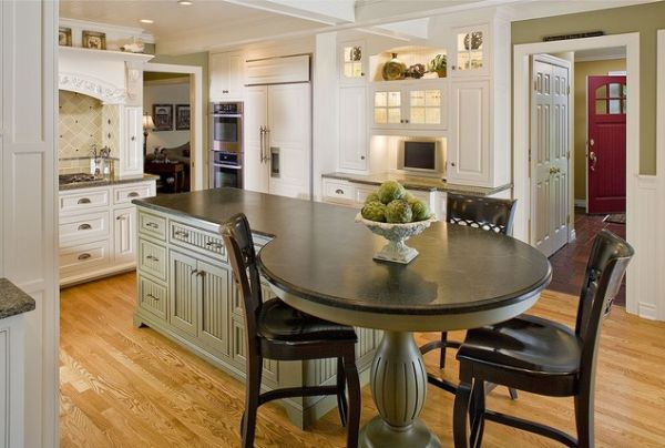 kitchen islands with seating ... seating view in gallery a hybrid kitchen ... HYZVRMP