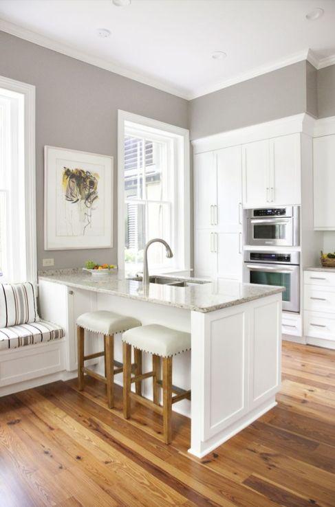 kitchen paint ideas sherwin williams gray versus greige - DTKESTM