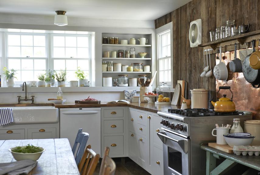 kitchen renovation ideas after: charming farmhouse kitchen CDROFBO