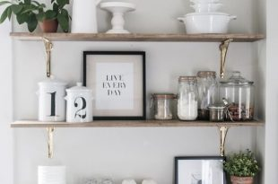kitchen shelves 8 ways to style open shelving in the kitchen NALRFQW