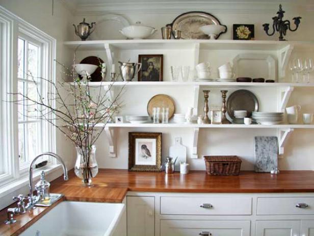 kitchen shelves design ideas for kitchen shelving and racks | diy XAMSMTK