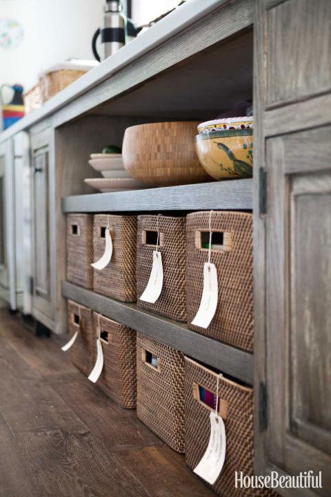kitchen storage ideas fill up handy bins. YBHAMGX