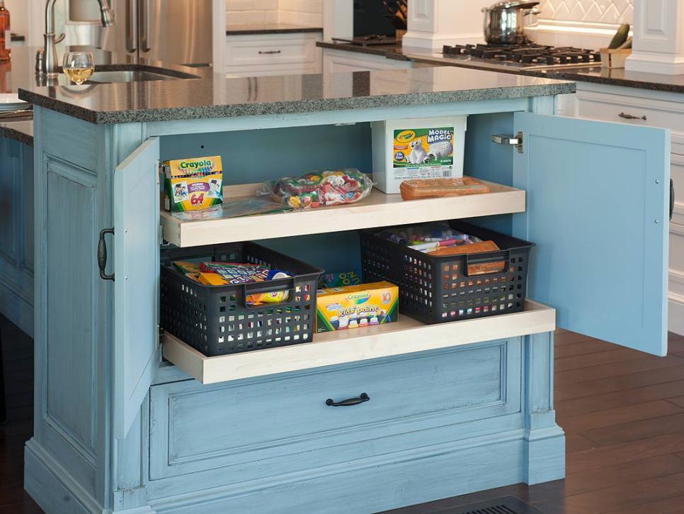 kitchen storage ideas | hgtv BHZNKZP