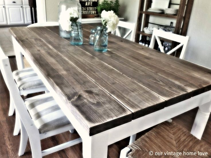 kitchen tables farmhouse-kitchen-tables-and-chairs-distressed-farmhouse-table. RPTOXVR