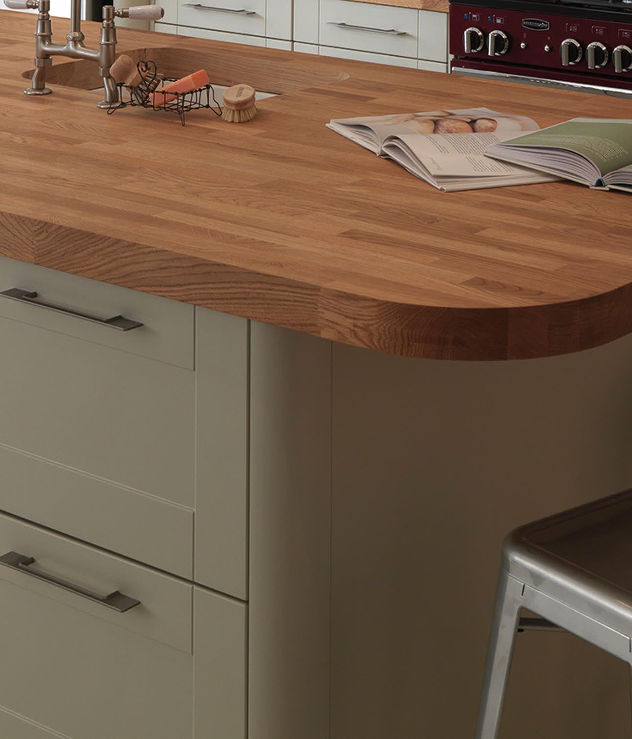 kitchen worktops magnet bespoke solid wood worktop FRGDHQW