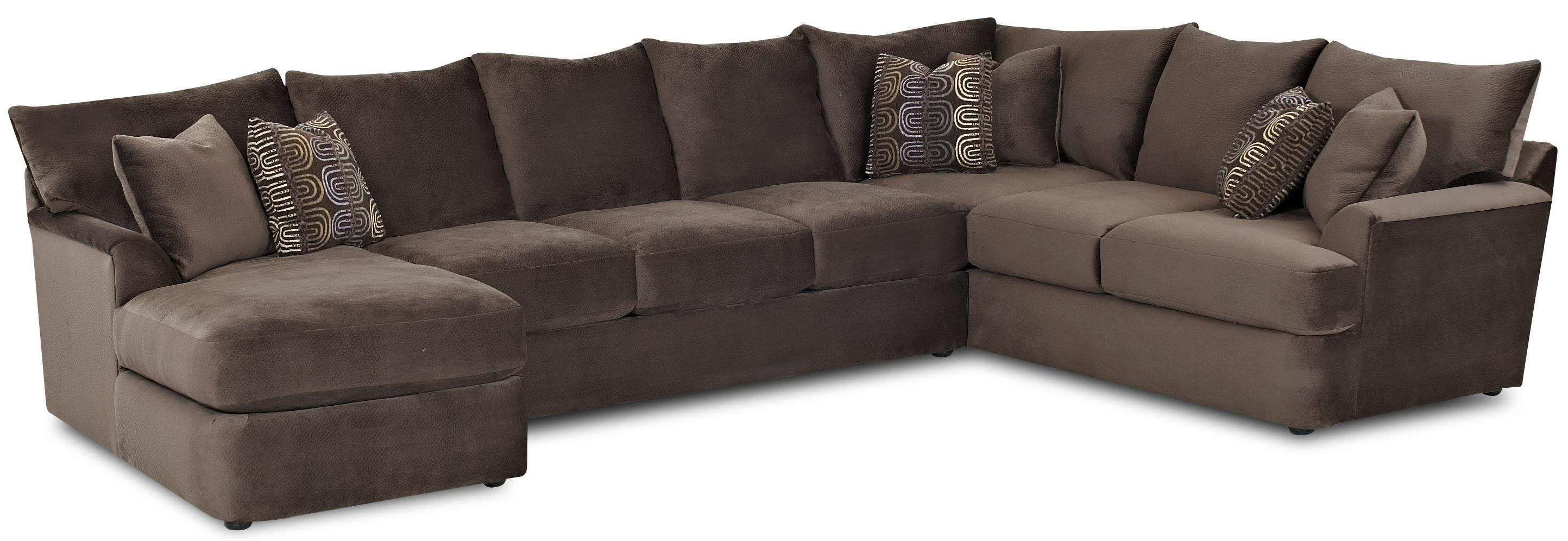 l shaped couch klaussner findley sectional - item number: k56830l chase+as+r crns FPFUXGR