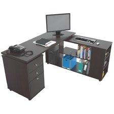 L shaped desk toby l-shape computer desk NVCDWOA
