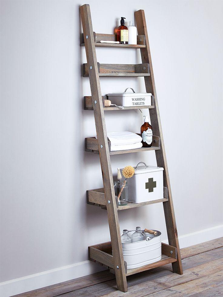 ladder shelves add this bathroom ladder shelf more MZOGVTP