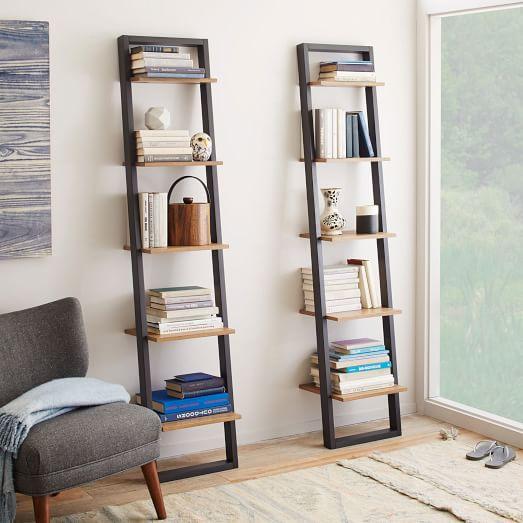 ladder shelves ladder shelving - narrow SXRMXOC