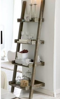 ladder shelves leaning ladder bookshelf CNUKSVF