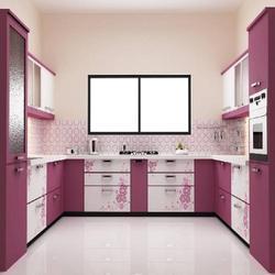 laminated modular kitchen INKRZYL