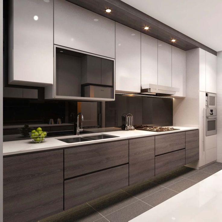 latest kitchen designs singapore interior design kitchen modern classic kitchen partial open -  google search BAXGWRX