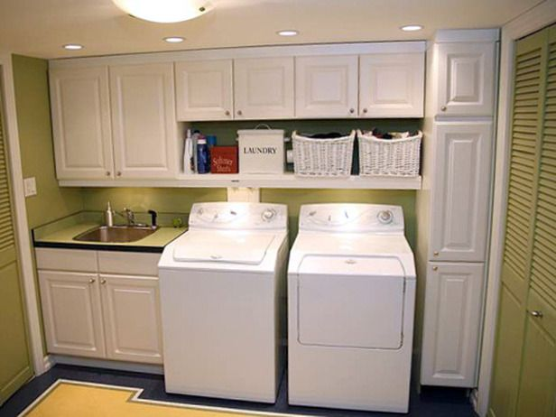 laundry room cabinets love that laundry - 10 great garage conversions on hgtv. laundry room IXJBDTQ