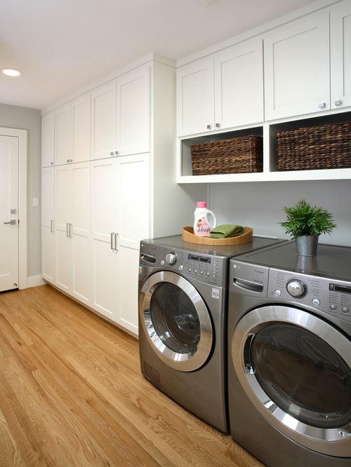 laundry room cabinets traditional laundry room idea in san francisco with white cabinets VUNVTPK