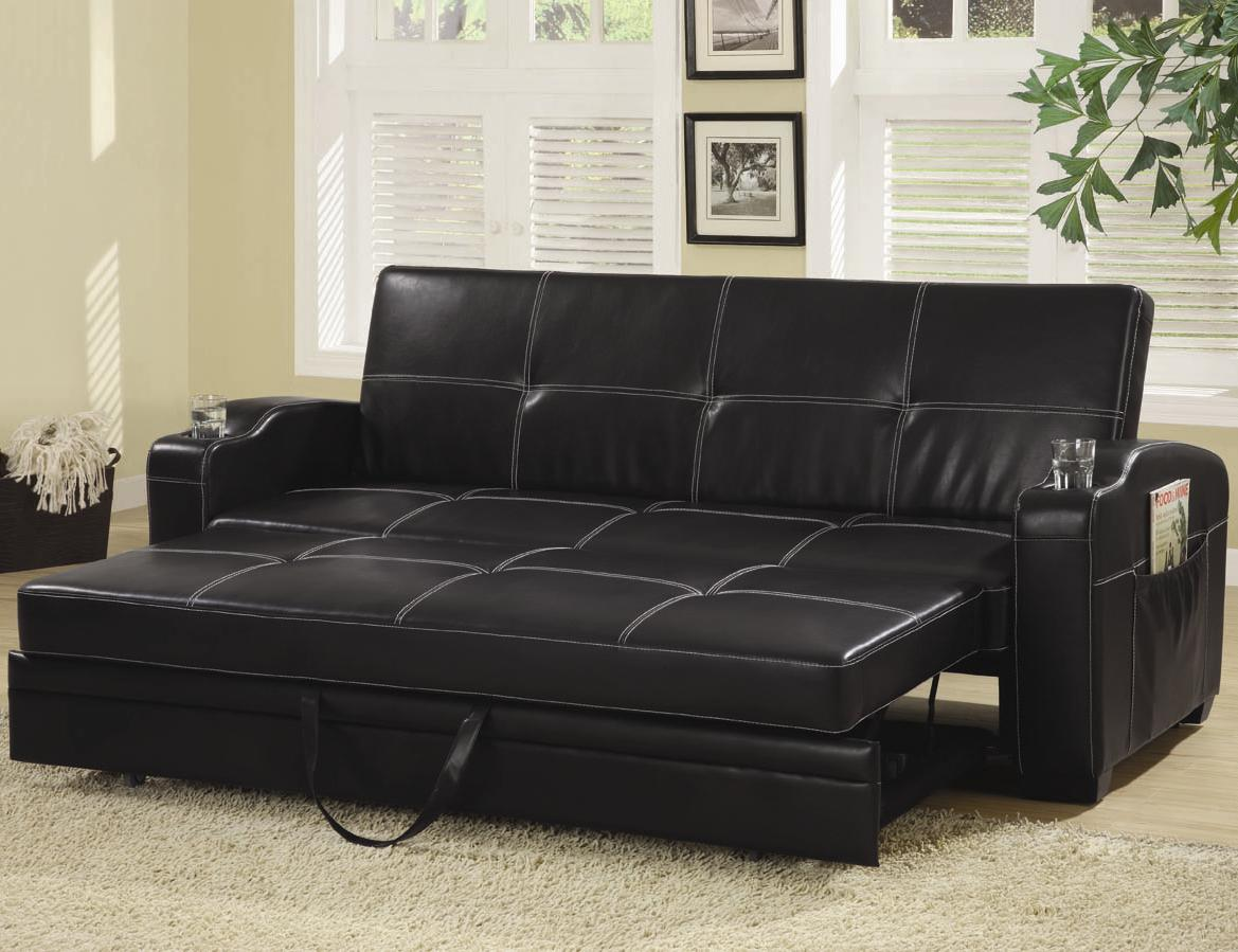 leather sofa bed ikea black leather sofa ERIZKCF