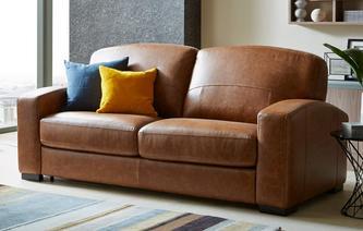 leather sofa bed kalispera 3 seater sofa bed colorado CXAACTU