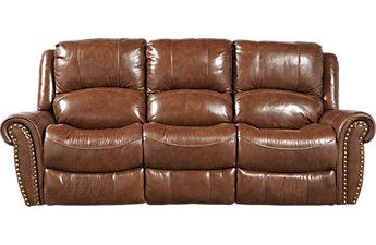 leather sofas abruzzo brown leather reclining sofa CMOREIK