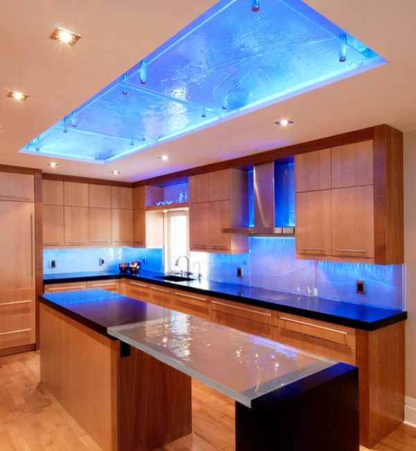 Led kitchen lighting different ways in which you can use led lights in your home PAOPRAY
