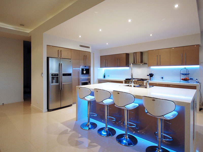 Led kitchen lighting find this pin and more on lighting. kitchen - led ... APFJQYJ