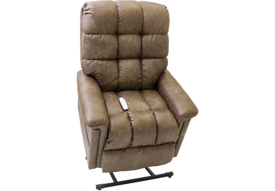 lift chairs gatlinburg ii silt lift chair recliner - recliners (brown) RLKIYPI
