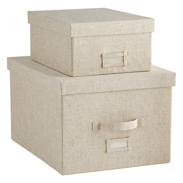 linen storage boxes ... CJGJBAV