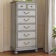 lingerie dresser arrondissement 7 drawer lingerie chest CXQRZXJ