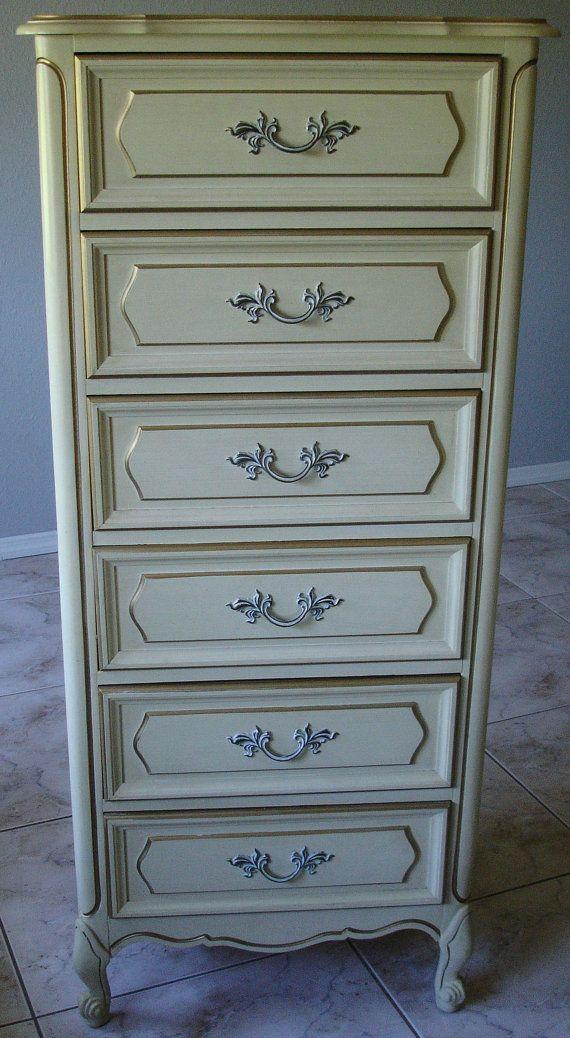 lingerie dresser henry link french provincial lingerie chest by bluebirdvintagehome, $425.00 XSCTXPH