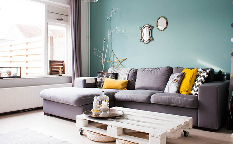 living room paint ideas calming color JDXMSNK