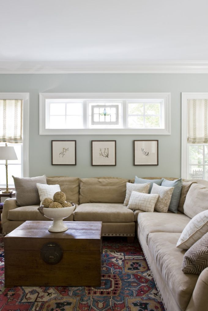 living room paint ideas paint color: benjamin moore tranquility. this is the color we used in our KHZLQYS