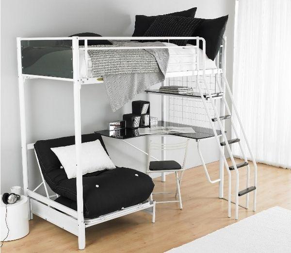loft beds with desk best 25+ loft bed desk ideas on pinterest EILTZCJ