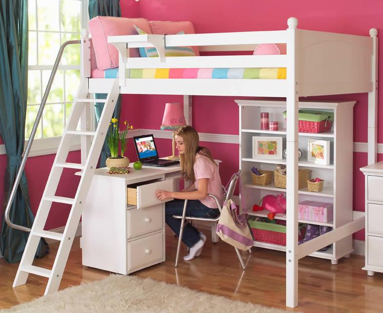 loft beds with desk creative adult loft bed photo RBMZMJZ