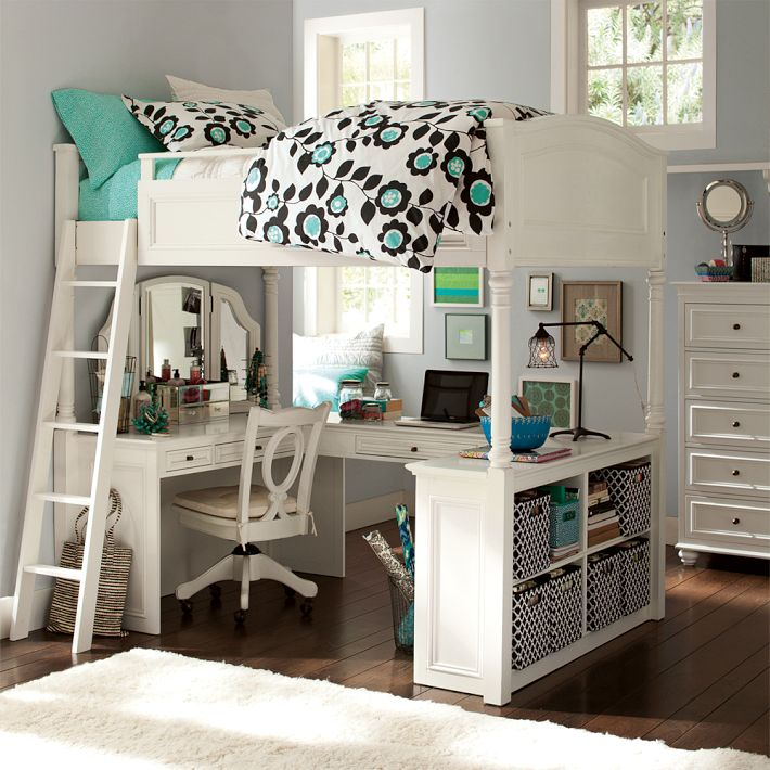loft beds with desk mixing work with pleasure - loft beds with desks underneath HLIGTMG