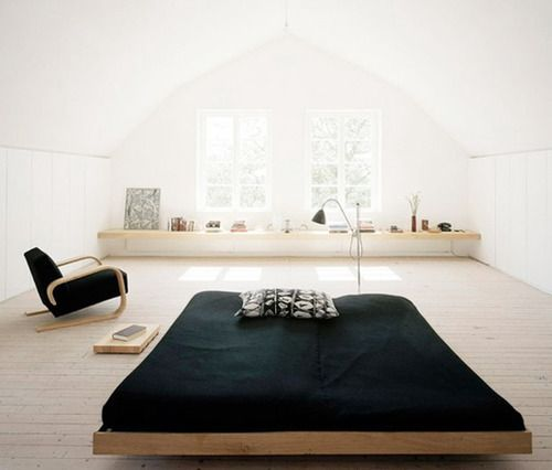 low beds minimal bedroom XZHREHT
