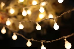 luminaria 50 led cherry balls fairy string decorative lights battery  operated wedding YPGFMCM